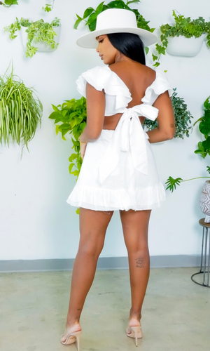 Summer Slay Dress- White