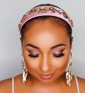 Too Cute Sis | Jewel Bling Headband - Pink