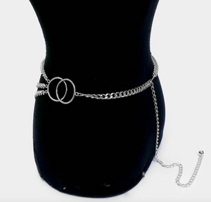 Set It Off | Chain Belt - Silver - Cutely Covered