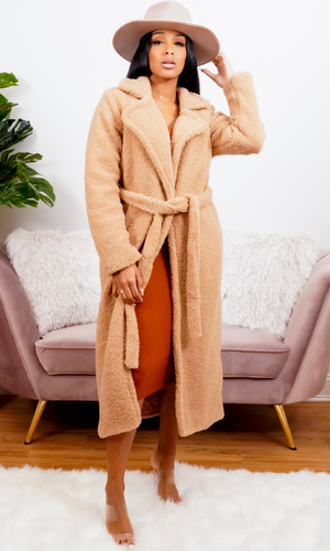 The Cutest Teddy Coat | Tan