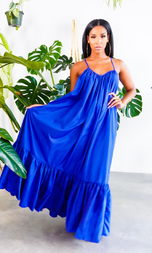 Fabulous Comfort | Maxi Dress - Blue