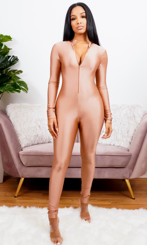 In The Nude Jumpsuit