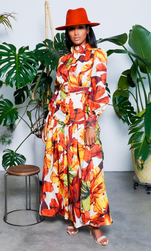 Fall Essential Button Down Maxi Dress FINAL SALE