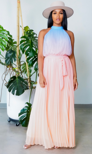 Keep Calm Pastel Ombre Dress