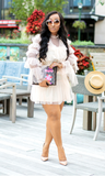 Slay The Day l Blush Ruffle Dress PREORDER - Cutely Covered