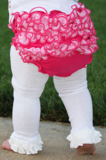 Faith Baby Christian Clothing & Apparel | Ruffled Tights