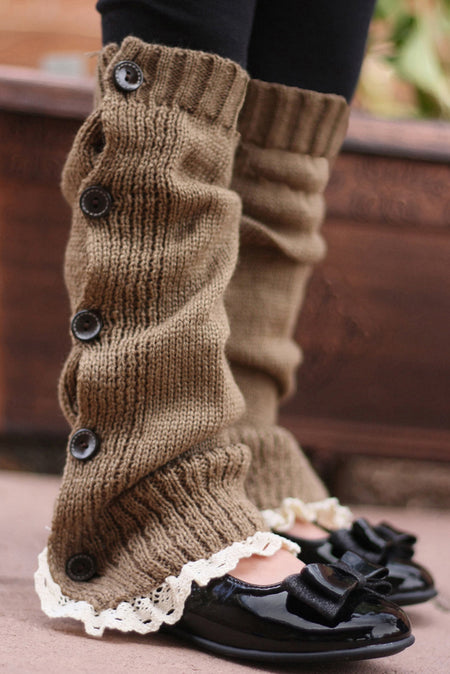 Faith Baby | Nutmeg Leg Warmers