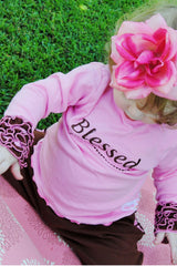 Faith Baby Ruffled Blessed Top