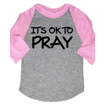 FaithBaby.com | It's Ok To Pray | Christian Toddler TShirt