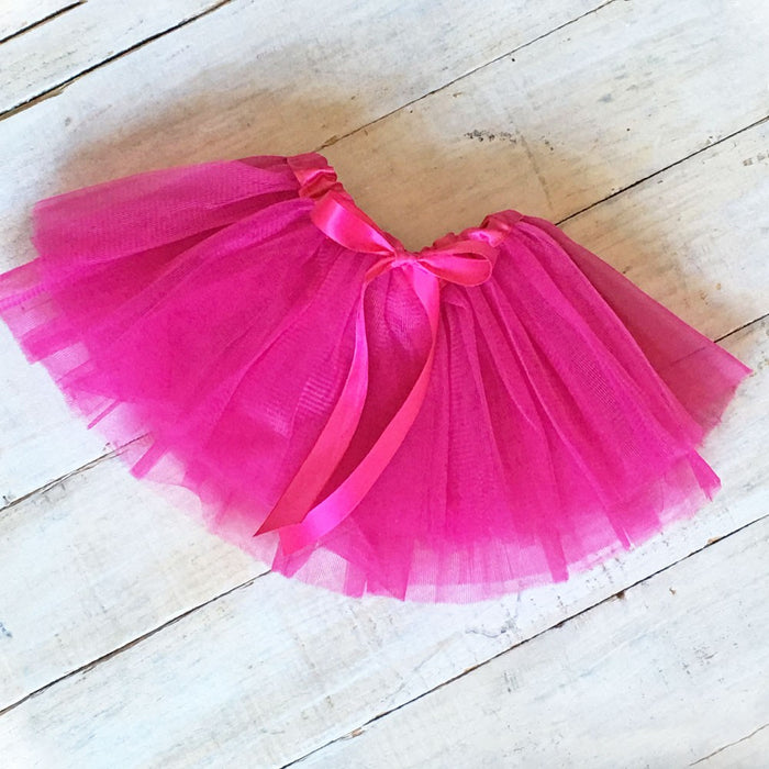 Fuchsia Infant Baby Tutu | Faith Baby Christian Apparel and Gifts