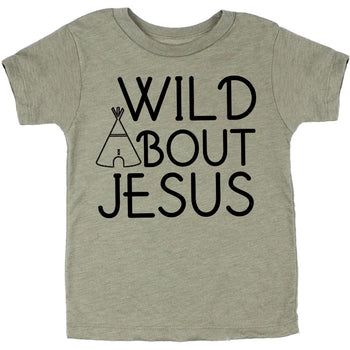 Faith Baby | Christian Toddler Tee - Wild About Jesus