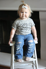 Faith Baby | Christian Toddler Tee - Wild About Jesus Unisex Graphic Tee