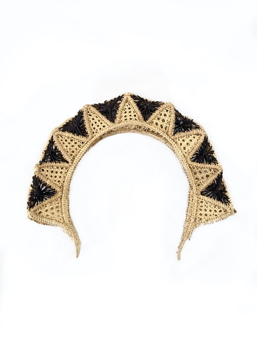 Raquel headpiece