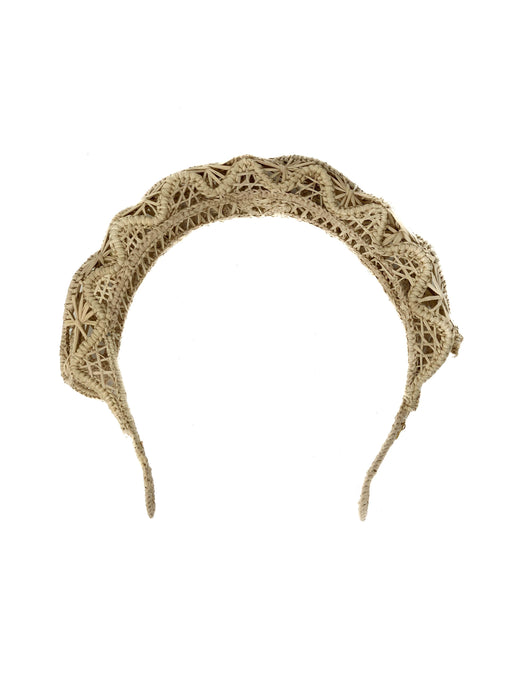 Lisa headpiece natural