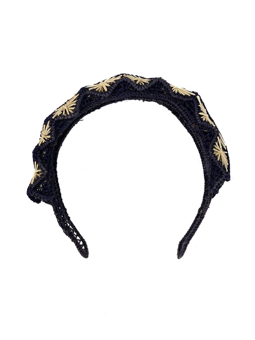 Lisa headpiece navy
