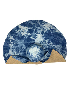 Luna hat blue
