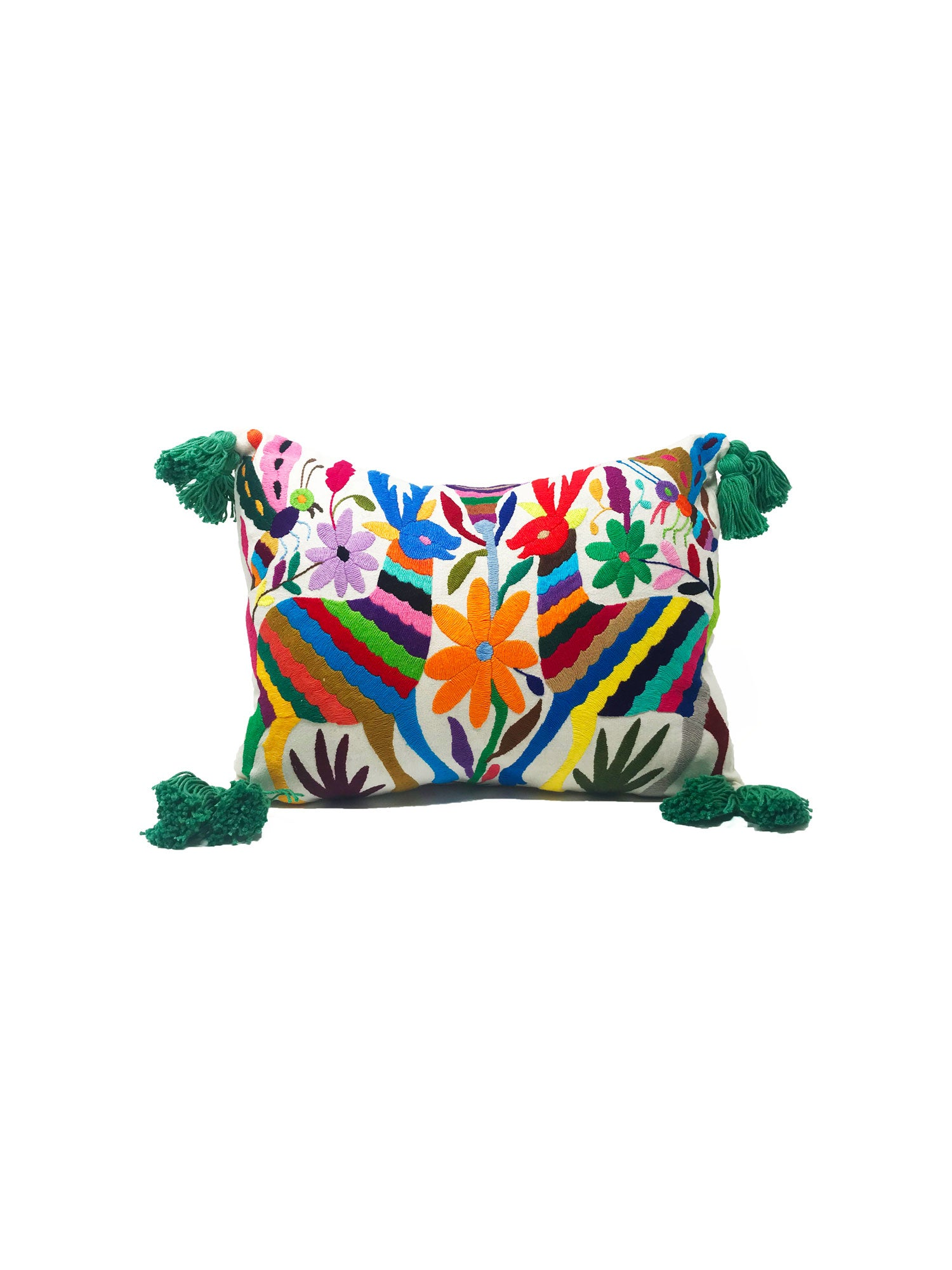 Renata Pillow Cover Green