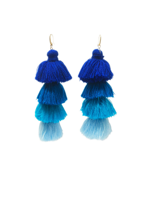Gala Earrings Blue