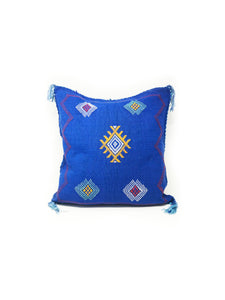 Violeta Pillow Cover Blue