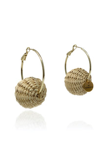 Claudia earrings natural