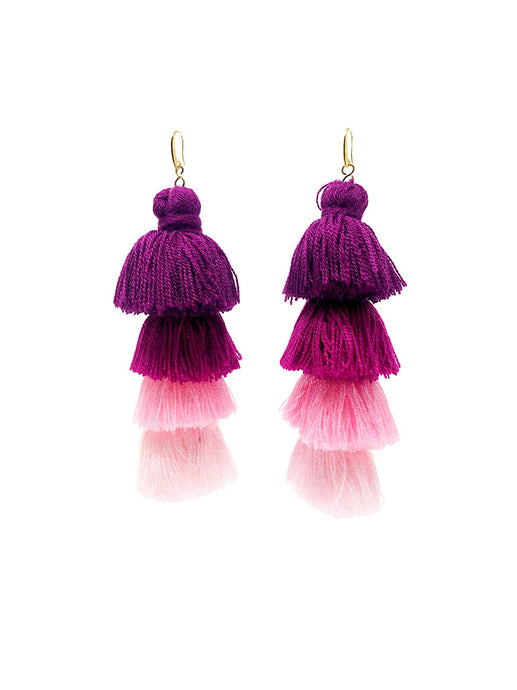 Gala Earrings Pink