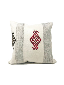 Cuckoo B Bruna pillow cover. Handmae out of vintage Kilim rugs, unique. Product made in Istambul, Turkey