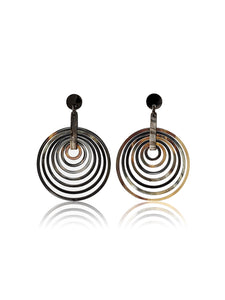 Iman Earrings Chocolate