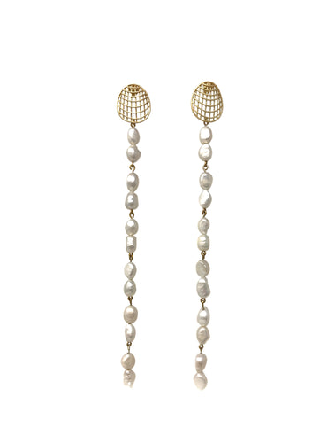 Luz Pearl Earrings