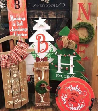 11/21/18 All Things Christmas Workshop (6:00 pm)