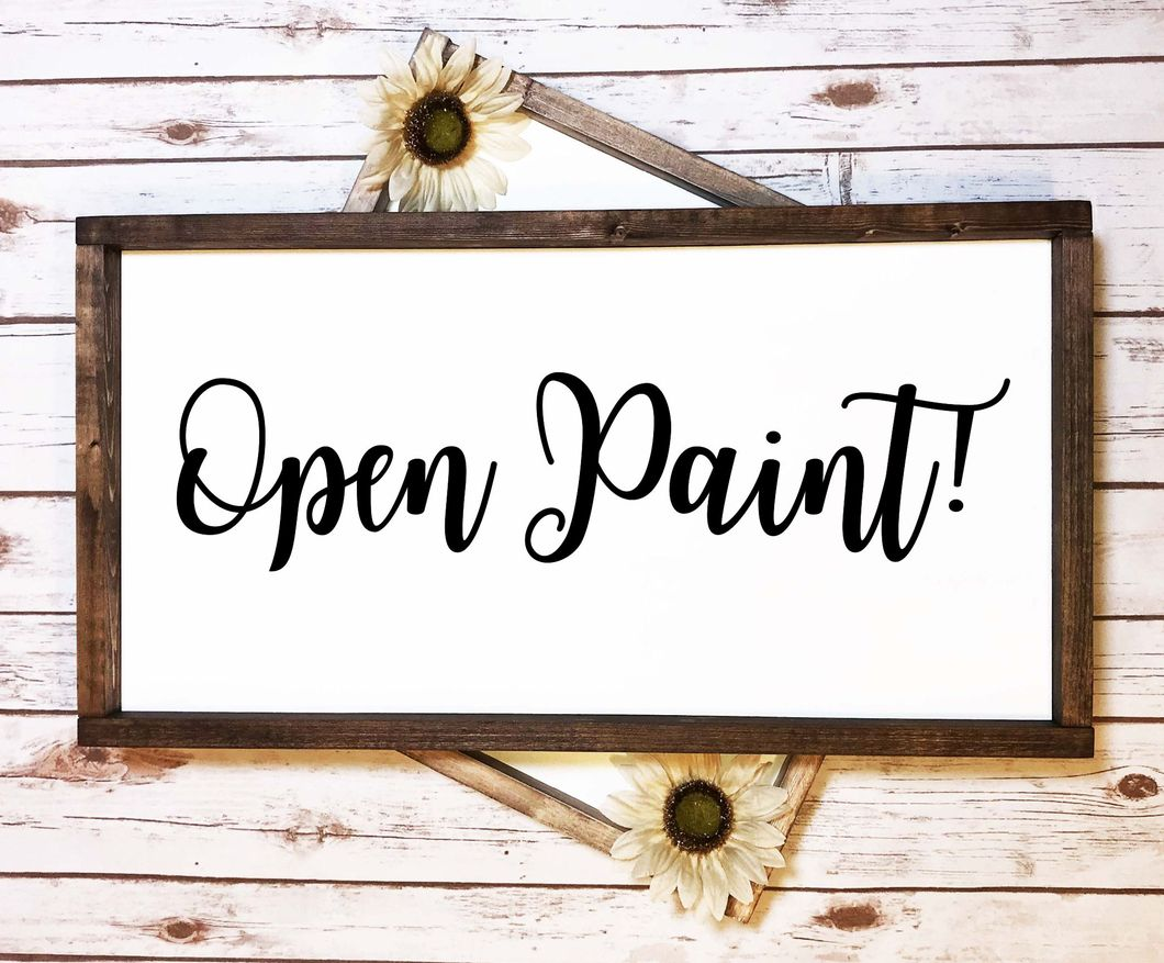02/20/19 Open Paint, All Ages Welcome (2-6pm)