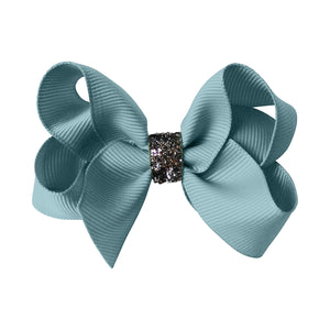 Medium Boutique Bow - nile blue