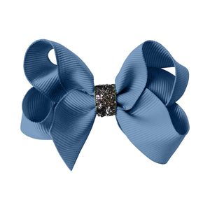 Medium Boutique Bow - french blue