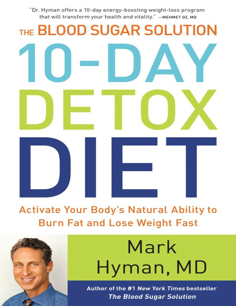 The 10-Day Detox Diet - eBook, ePUB, Mobi, PDF (Fast instant delivery)