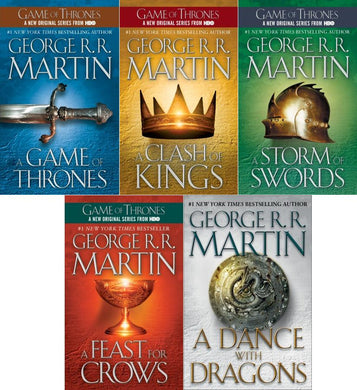 A Game of Thrones 5-Book Boxed Set (Song of Ice and Fire Series) by George R. R. Martin - eBook, ePub, Mobi, PDF (Fast instant delivery)