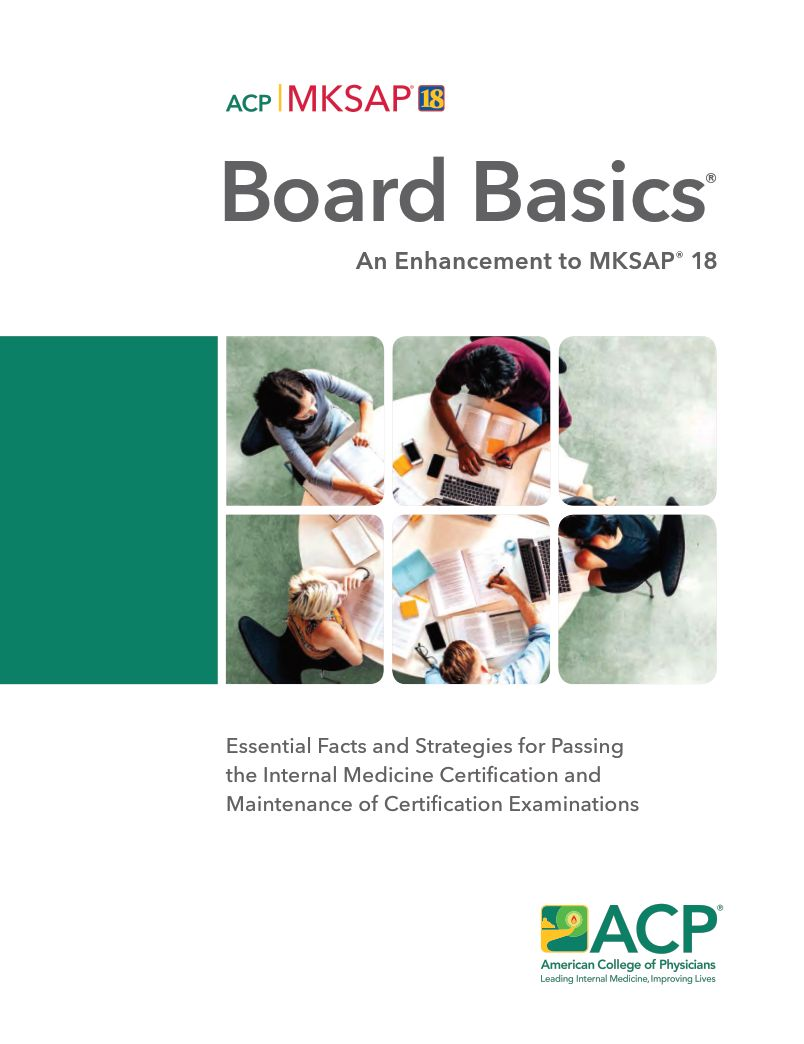 Board Basics 5: An Enhancement to MKSAP 18 - eBook, (Phone, Tablet, Computer) Fast Instant delivery