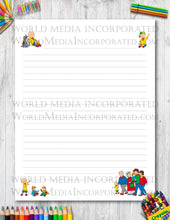 Caillou - Printable Paper - Coloring, Diary, Art, Scrapbook