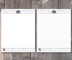 Colorado Rockies: MLB Printable Paper & Writing Paper - Instant Download (Fast instant delivery)