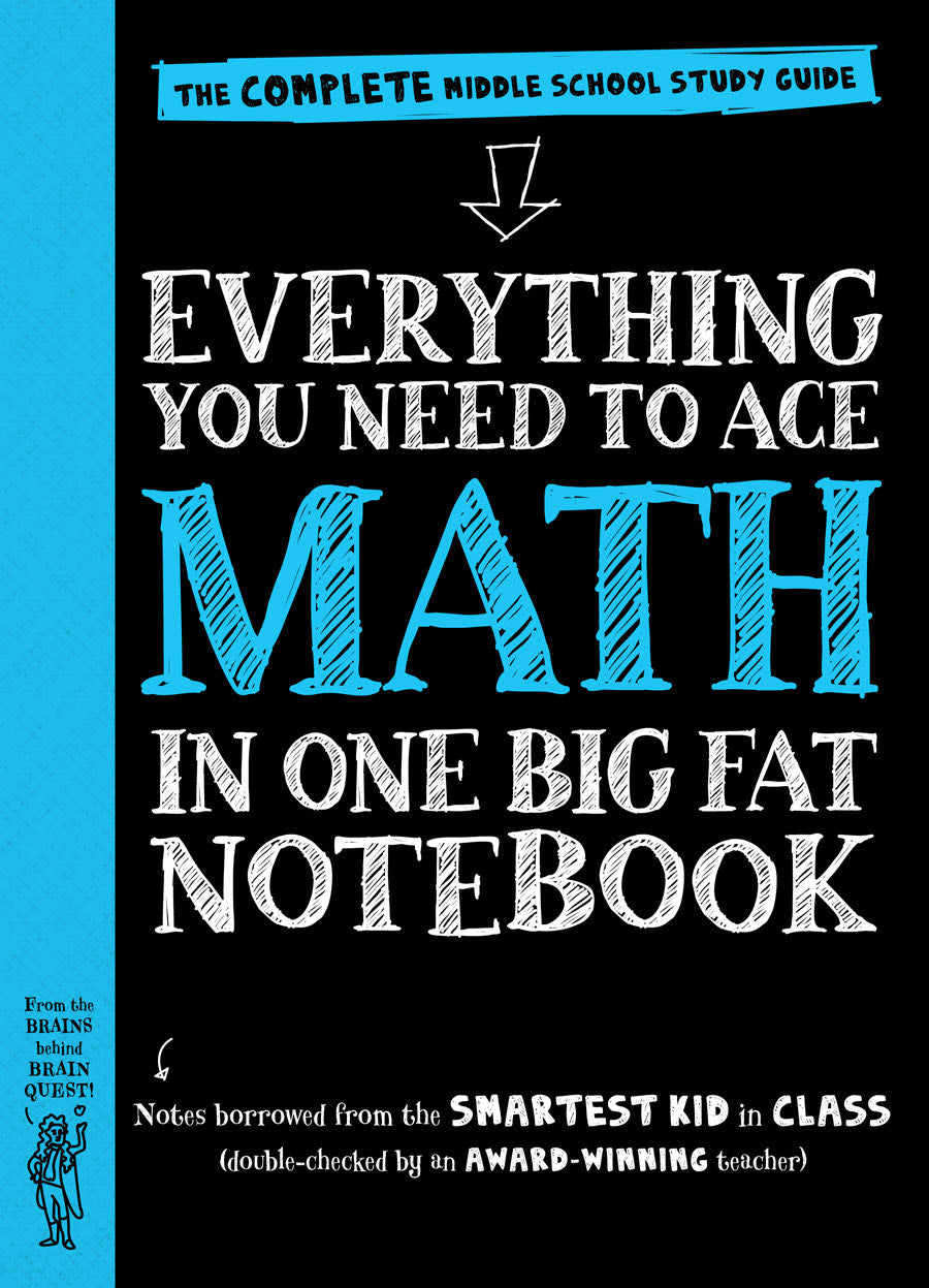 Everything You Need to Ace Math in One Big Fat Notebook - eBook, (Phone, Tablet, Computer) Fast Instant delivery