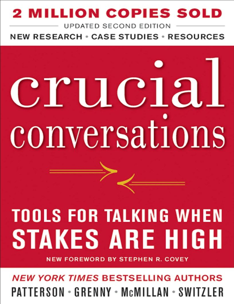 Crucial Conversations: Tools for Talking When Stakes Are High, Second Edition - eBook, ePub, Mobi, PDF (Fast instant delivery)