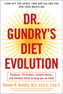 Dr. Gundry's Diet Evolution: Turn Off the Genes That Are Killing You and Your Waistline - eBook, ePub, Mobi, PDF (Fast instant delivery)