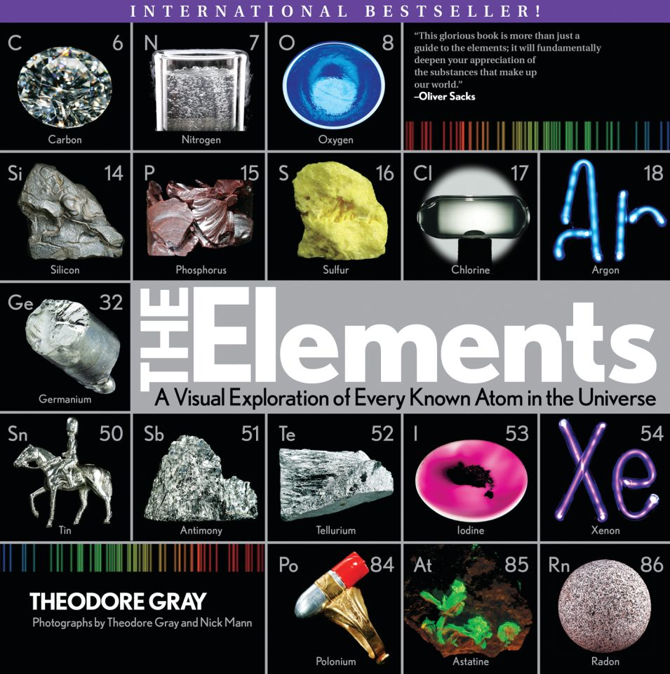 Elements: A Visual Exploration of Every Known Atom in the Universe - eBook, (Phone, Tablet, Computer) Fast Instant delivery