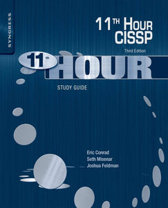 Eleventh Hour CISSP: Study Guide - eBook, PDF (Fast instant delivery)