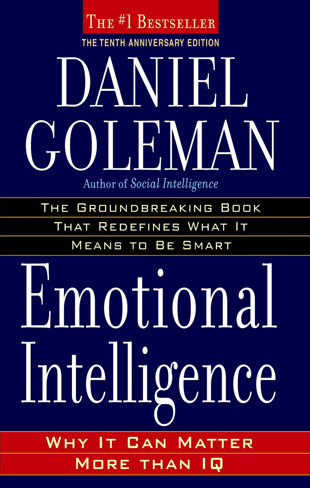 Emotional Intelligence: Why It Can Matter More Than IQ - eBook, (Phone, Tablet, Computer) Fast Instant delivery