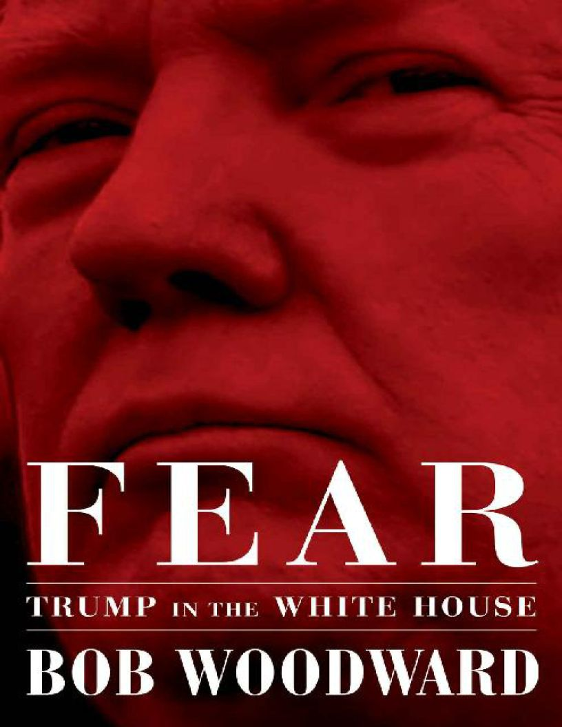 Fear: Trump in the White House by Bob Woodward - eBook, (Phone, Tablet, Computer) Fast Instant delivery