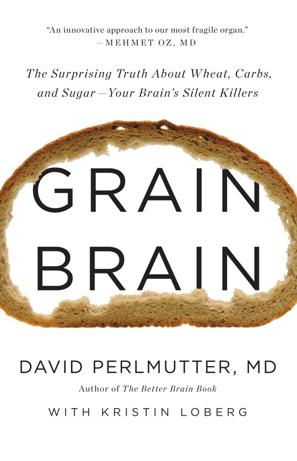 Grain Brain, The Surprising Truth about Wheat, Carbs, and Sugar, Your Brain's Silent Killers  - eBook, ePUB, Mobi, PDF (Fast instant delivery)