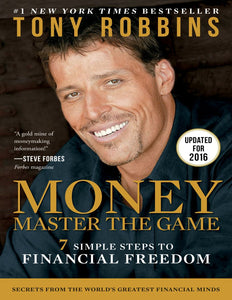 MONEY Master the Game: 7 Simple Steps to Financial Freedom by Tony Robbins - eBook, ePub, Mobi, PDF (Fast instant delivery)