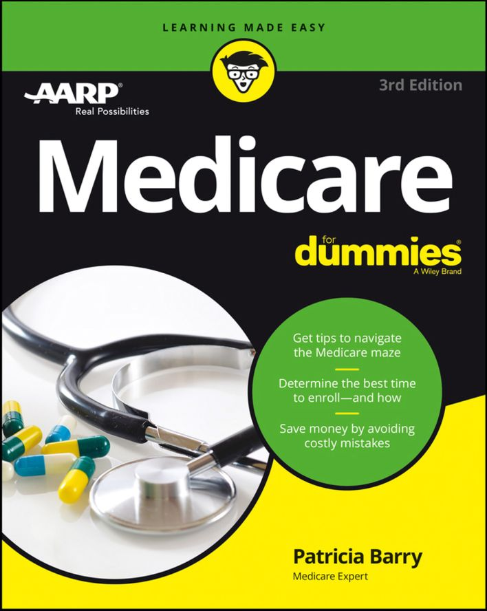 Medicare For Dummies - eBook, (Phone, Tablet, Computer) Fast Instant delivery