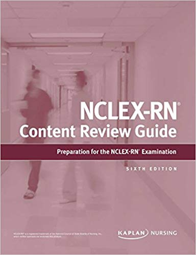 NCLEX-RN Content Review Guide: Sixth Edition - eBook, (Phone, Tablet, Computer) Fast Instant delivery