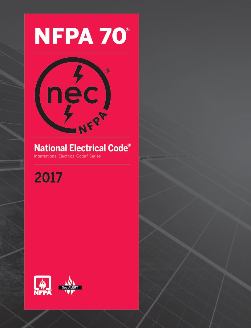 NFPA 70: National Electrical Code 2017, 1st Edition - eBook, PDF (Fast Instant Delivery)