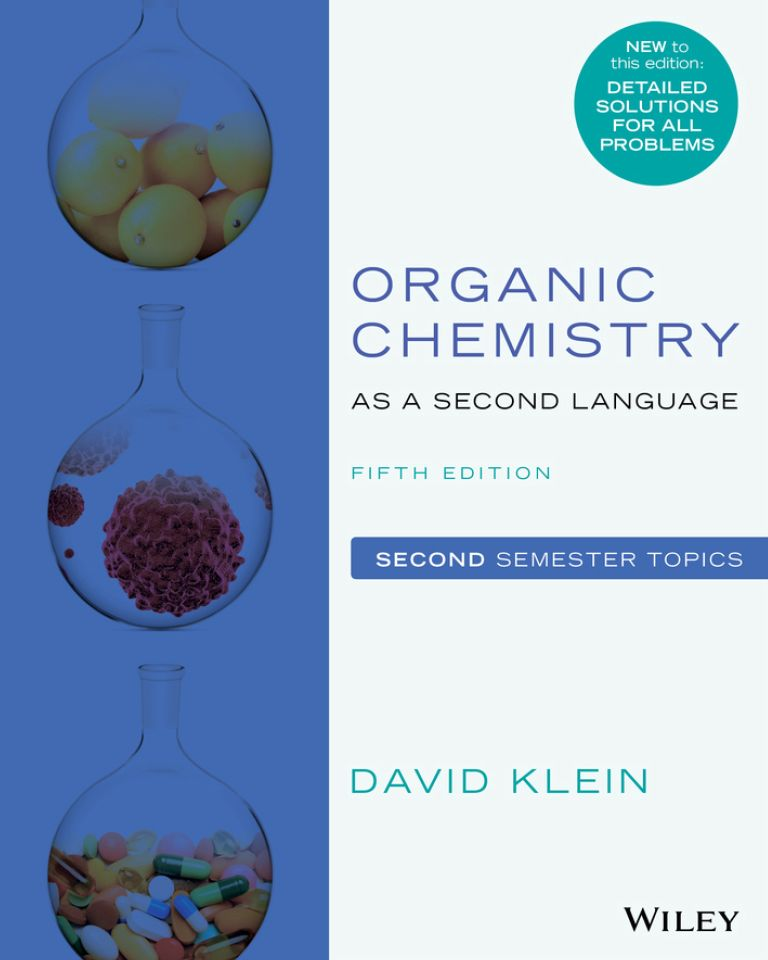 Organic Chemistry as a Second Language: Second Semester Topics 5th Edition - eBook, (Phone, Tablet, Computer) Fast Instant delivery